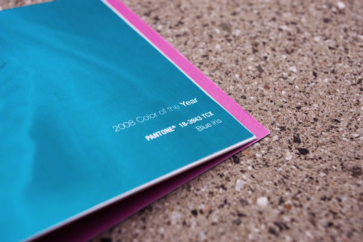 Pantone Booklet by Shelby White
