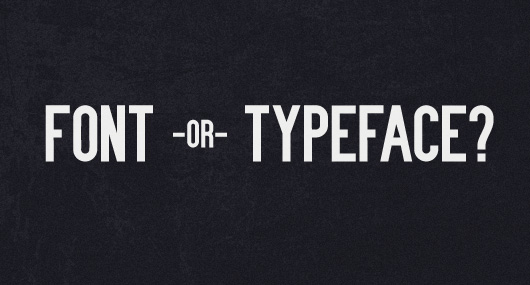 font or typeface by wanken