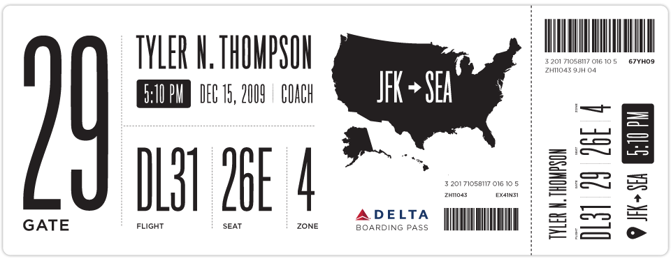 Read more about Tyler   s boarding pass solution here   Also check out    Delta Boarding Pass Template
