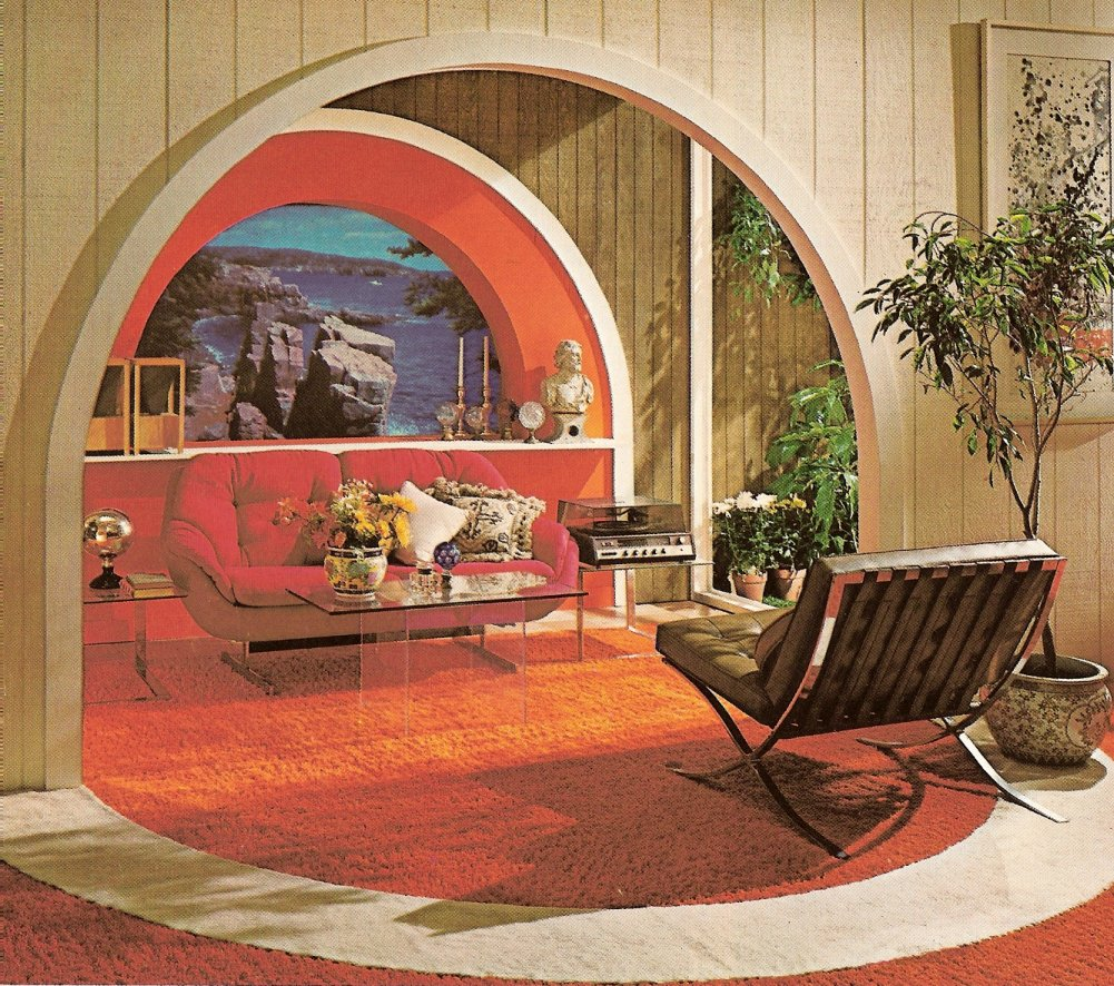 Mid century interior design flashback shelby white the - Retro home design ...