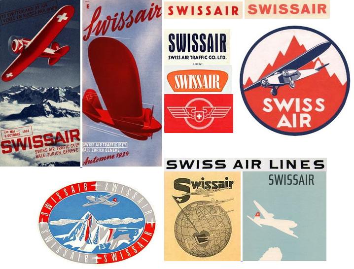 Behind The Swissair Logo Shelby White The Blog Of