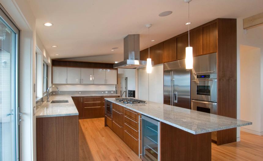 Innis arden mid century modern remodel shelby white for Modern kitchen updates