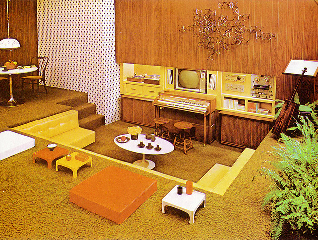 January 4th, 2011. This Second Set Of Mid Century Interiors ...