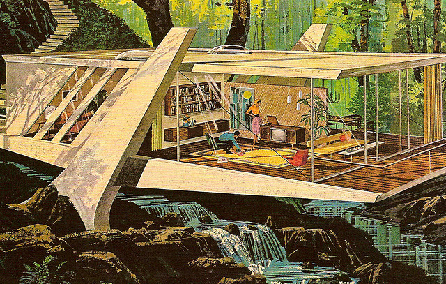 The Illustration of Mid-Century Modern | Shelby White - The ...