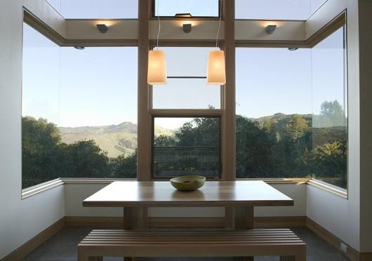 Дом на горе в Калифорнии