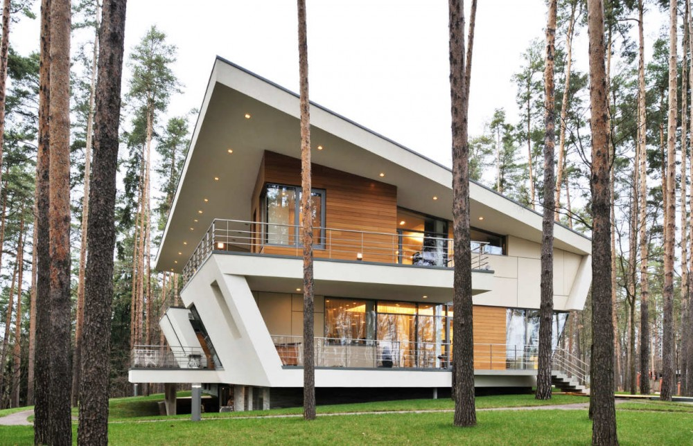 Contemporary House Near Moscow By Atrium Architects: Shelby White - The Blog Of Artist