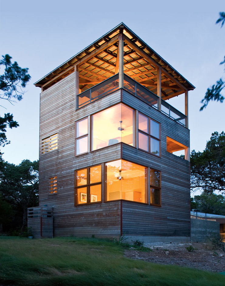 Austin Texas Tower House Shelby White The Blog Of