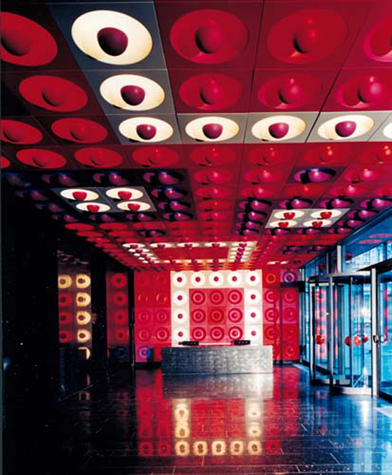 Spiegel publishing house by verner panton shelby white for Spiegel hamburg