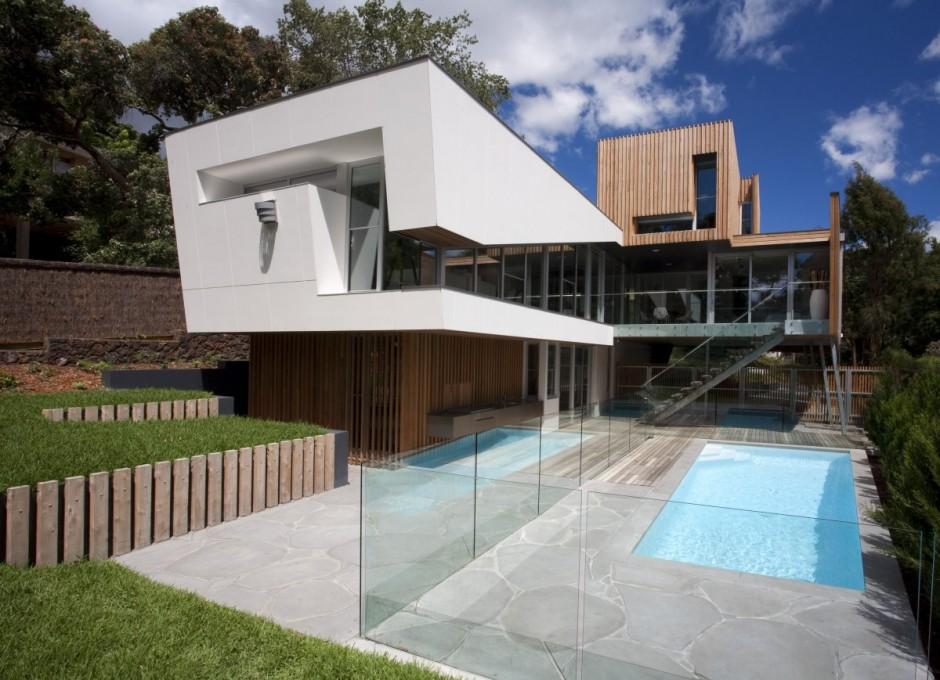Australian kew house shelby white the blog of artist for Facade de maison moderne