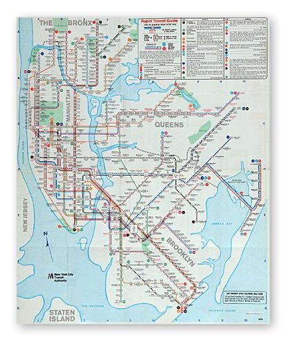 1980 Nyc Subway Map.Old Subway Maps