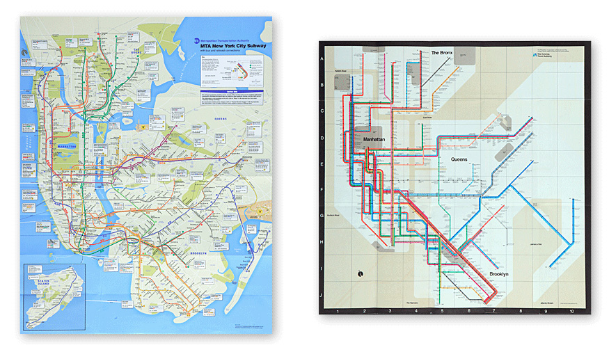 Nyc Subway Map 2011.New York City Map Overhaul Explained Shelby White The Blog Of