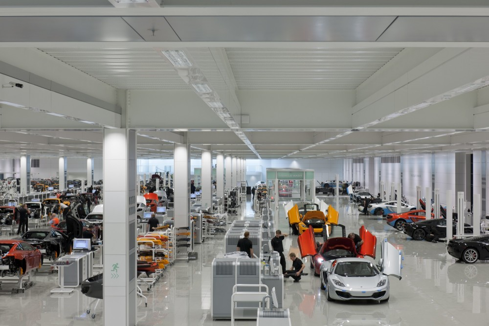 McLaren Car Production Center | Shelby White - The blog of ...