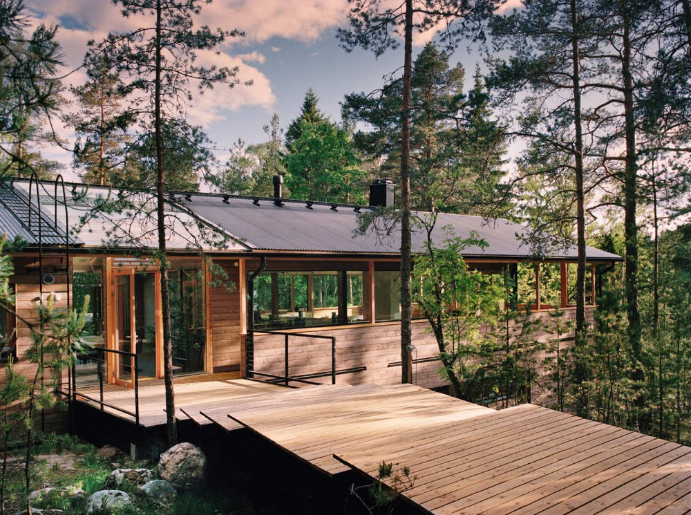 House kekkapaa in finland shelby white the blog of for Minimalist house wood