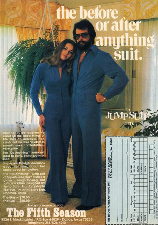 Clothing Designers From The 70's sport theses s jumpsuit