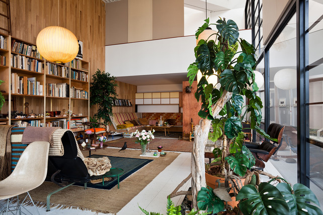 Charles And Ray Eames Living Room Exhibit Shelby White
