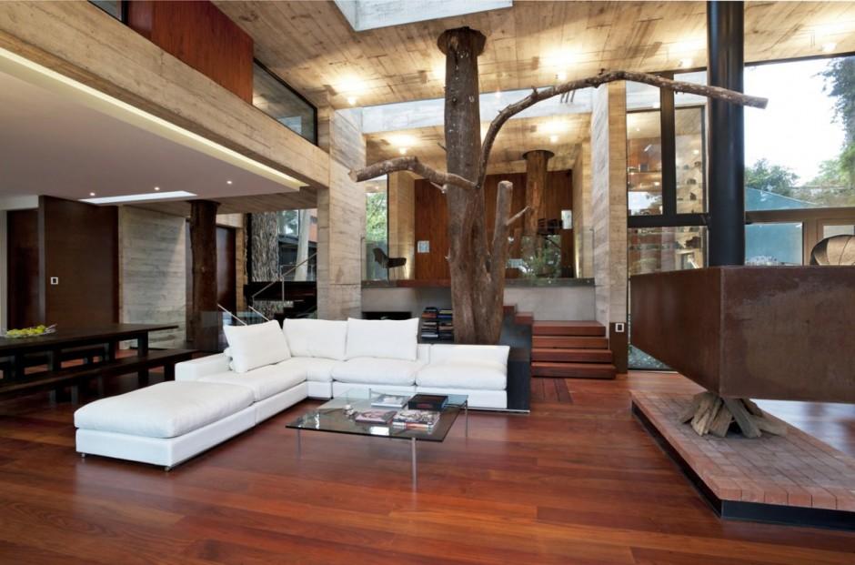 Дизайн дерево дом