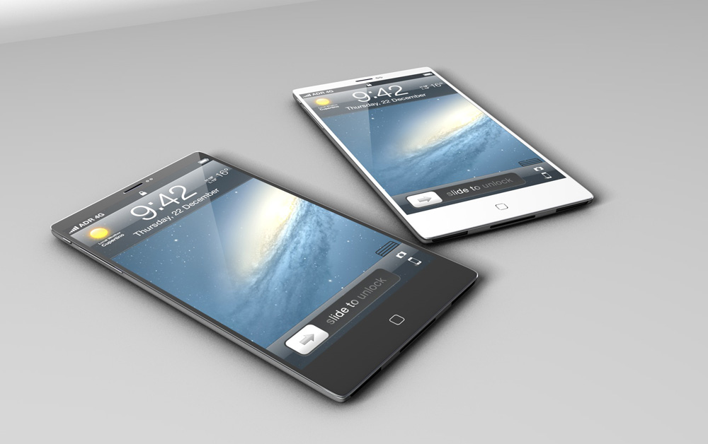 Apple Iphone 5 Plus Concept Shelby White The Blog Of