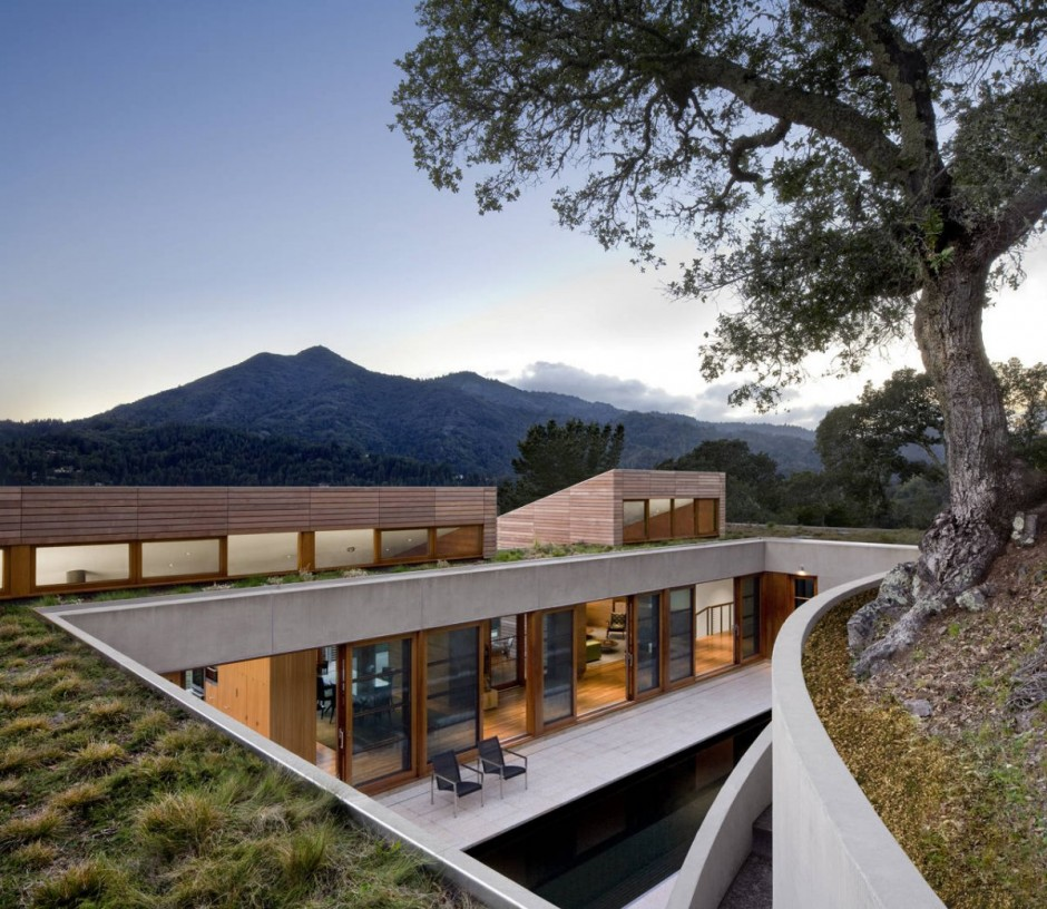 Two Hillside Cabins In The Trees By Feldman Architecture: Shelby White - The Blog Of Artist, Visual