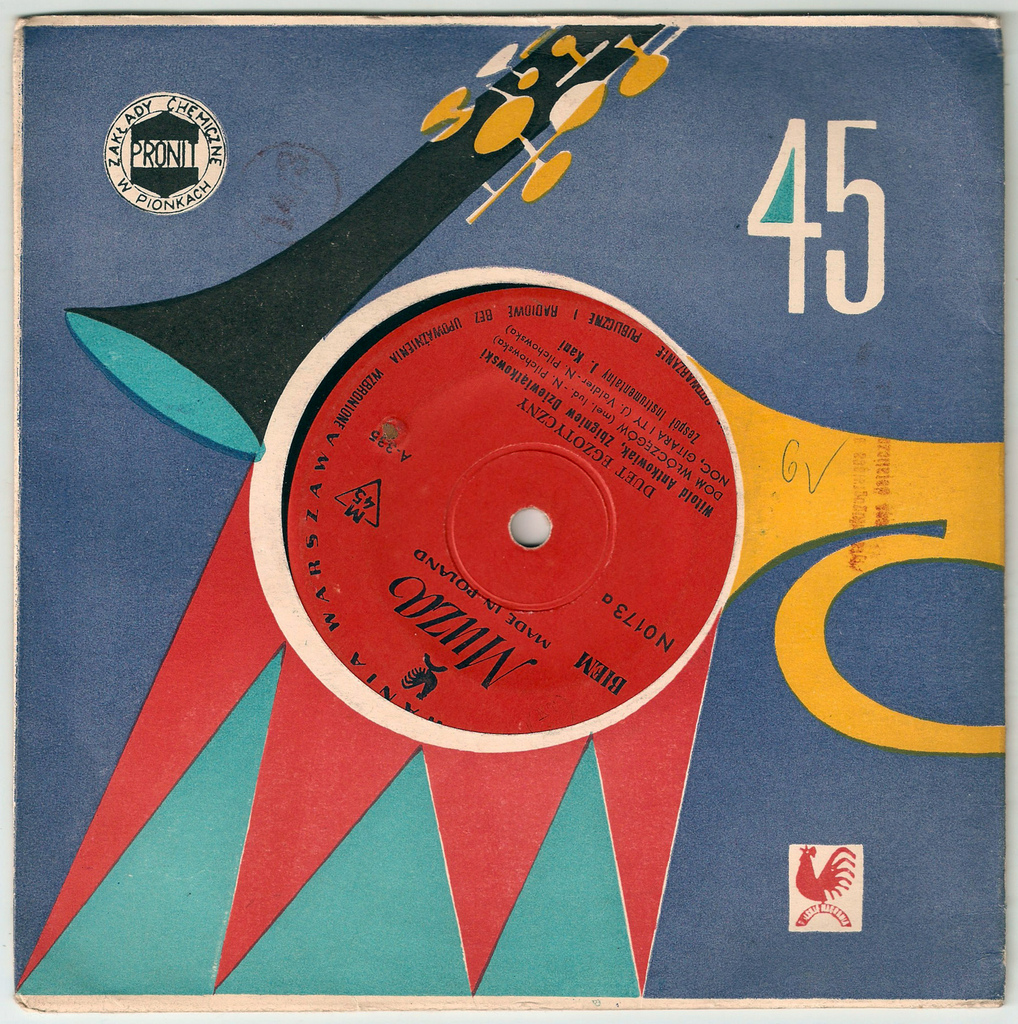 Vintage Polish Record Covers | Shelby White - The blog of
