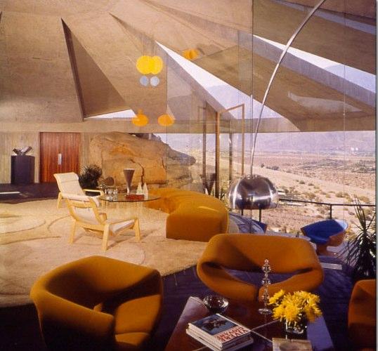 John Lautner S Arthur Elrod House In Palm Springs Shelby