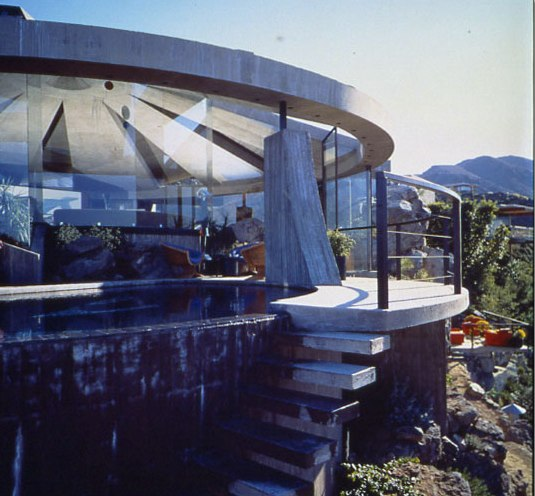 John Lautner's Arthur Elrod House In Palm Springs