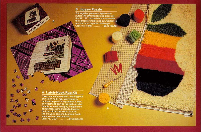 Vintage Apple Catalog From 1983 Shelby White The Blog