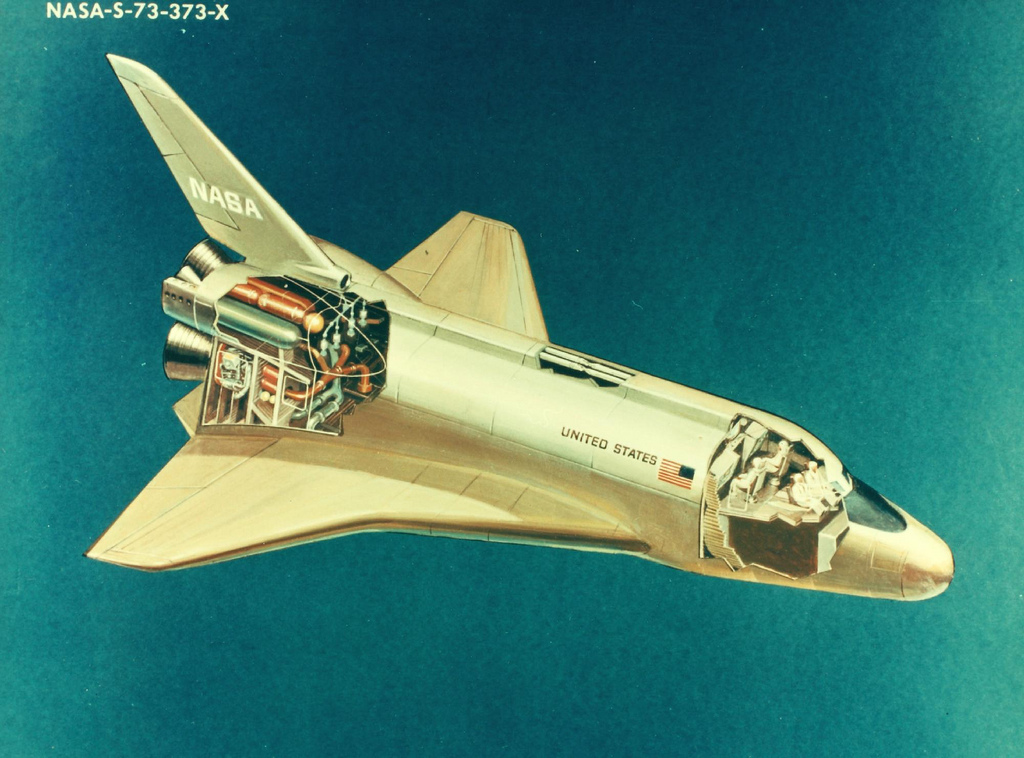 Vintage nasa space shuttles pics about space for Retro space design